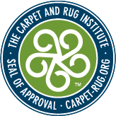 Carpet and Rug Institute Seal of Approval badge