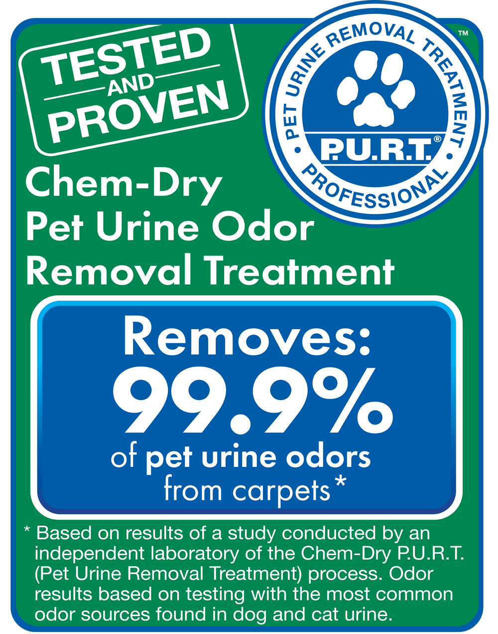 Chem-Dry removes bacteria and allergens